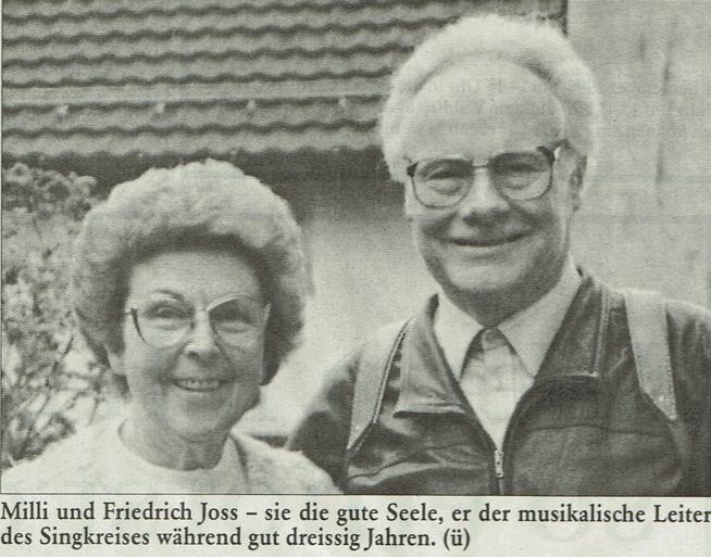 Milli u. Friedrich Joss