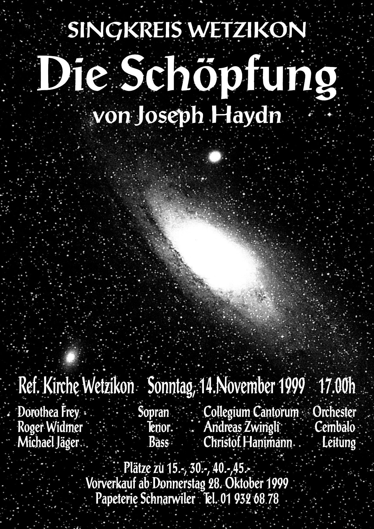 1999 Die Schöpfung