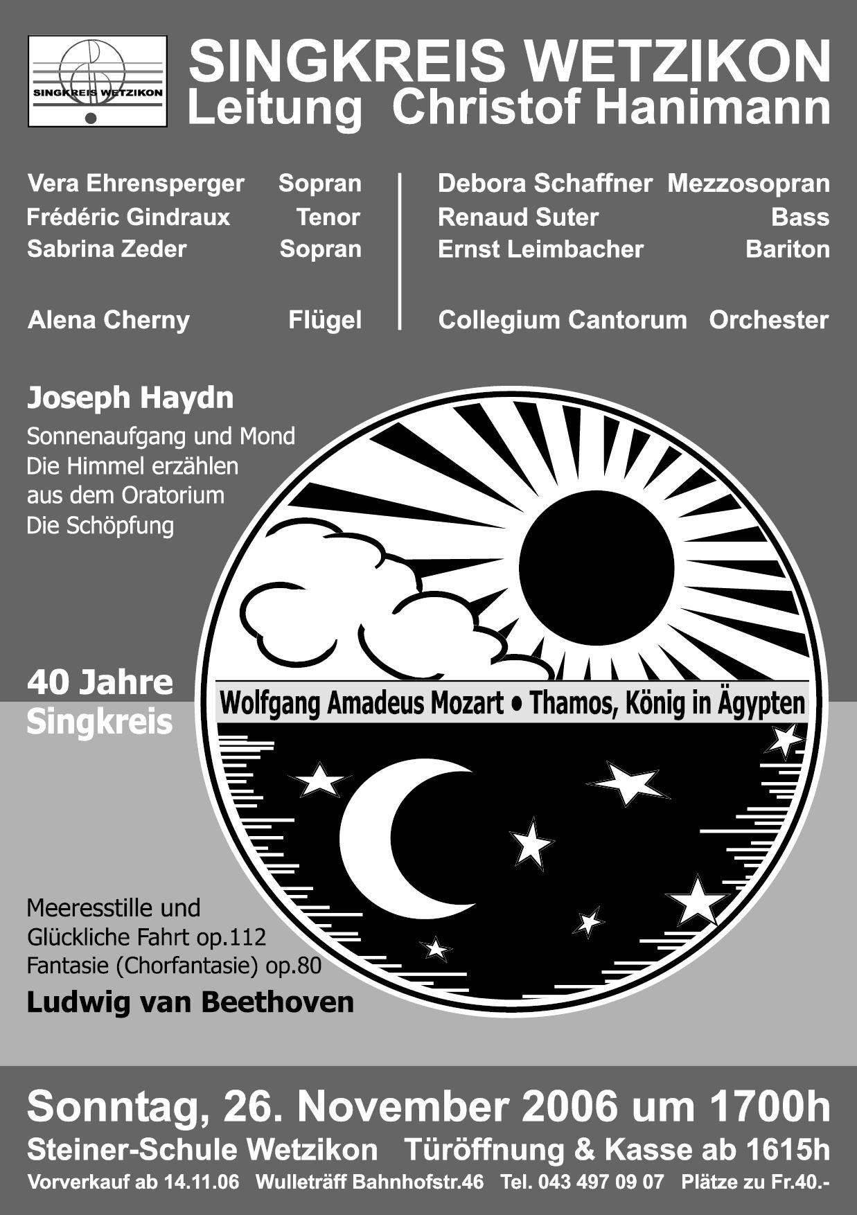 2006 Haydn, W.A.Mozart