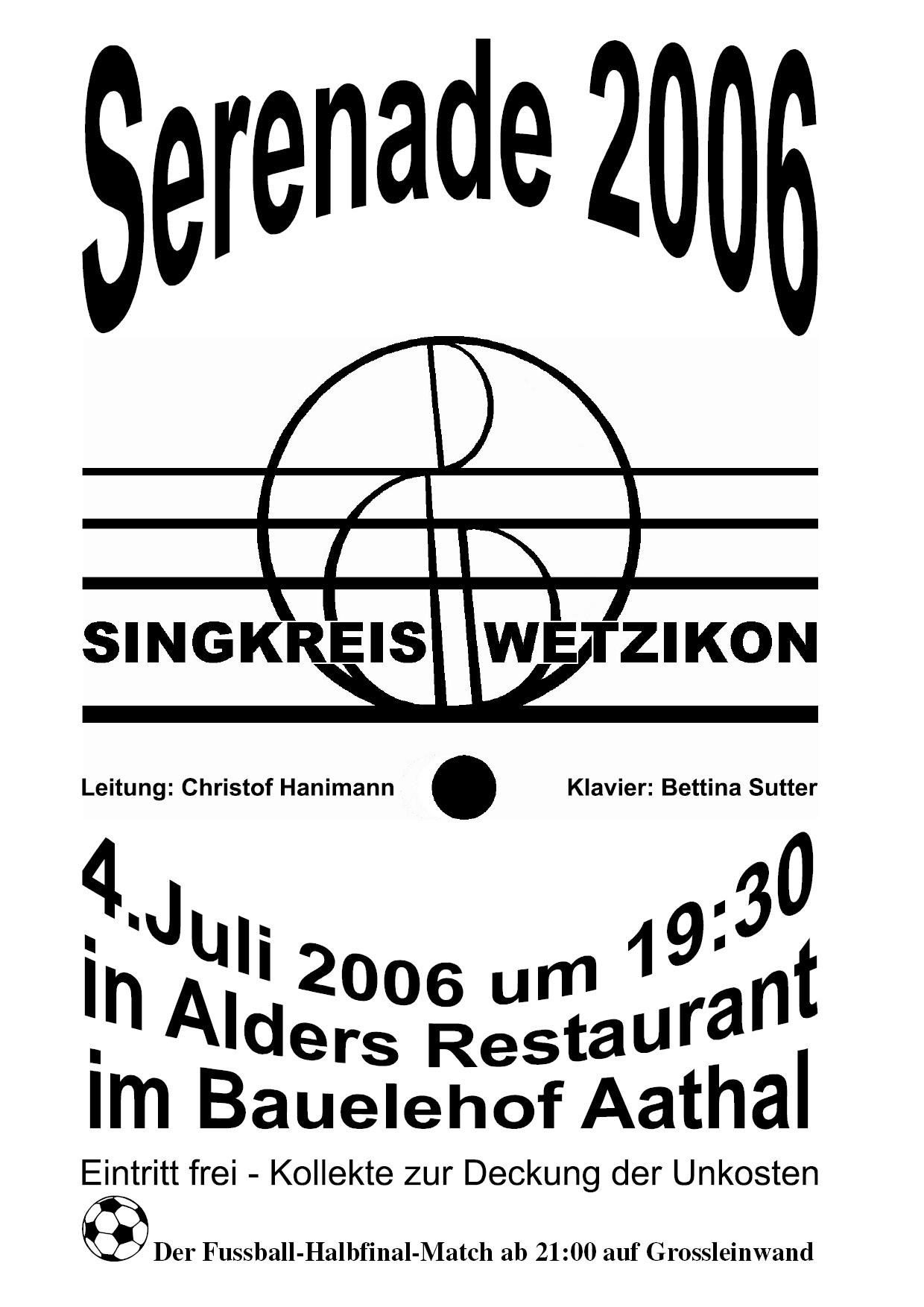 2006 Serenade
