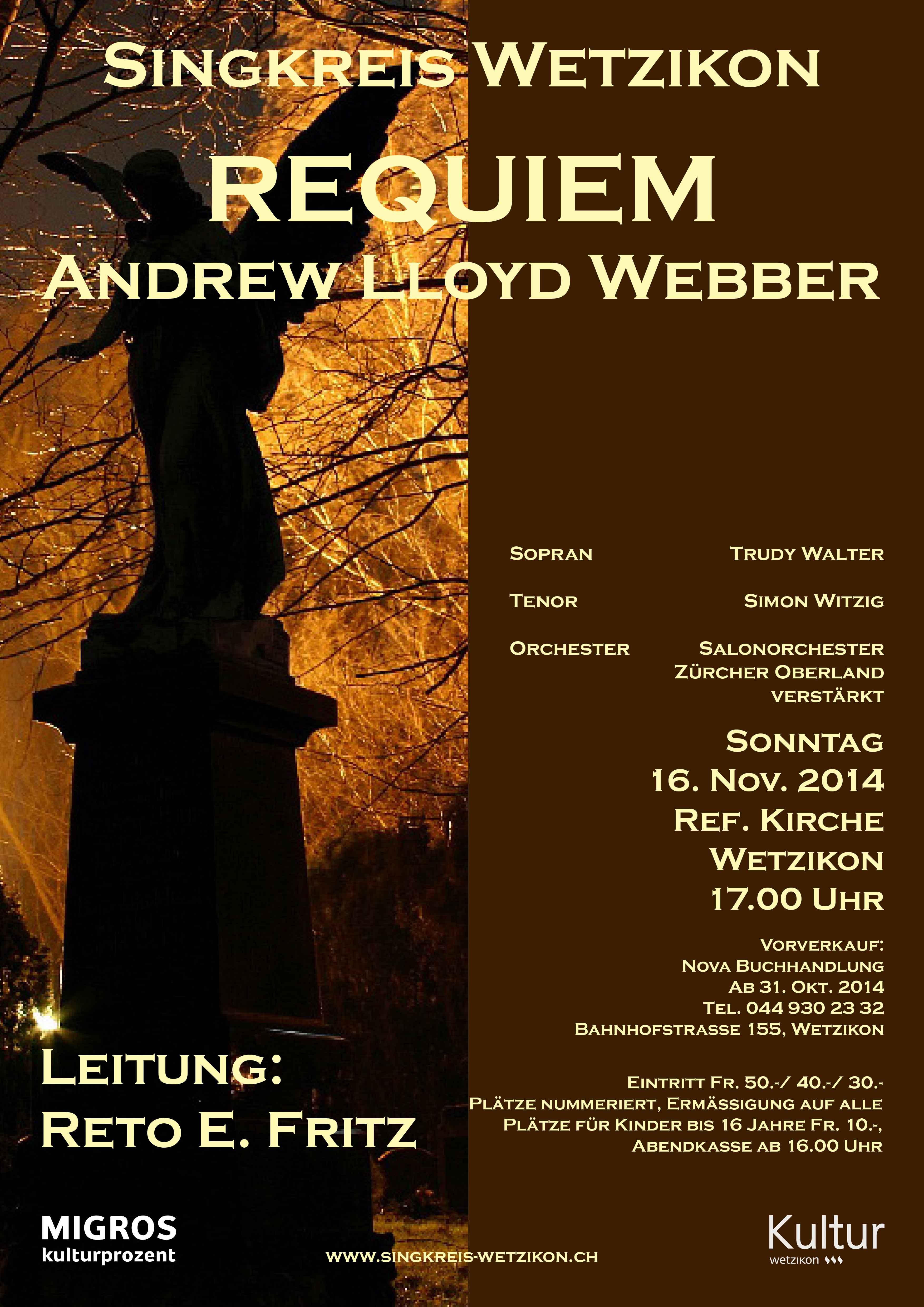 2014 Requiem A.L.Webber