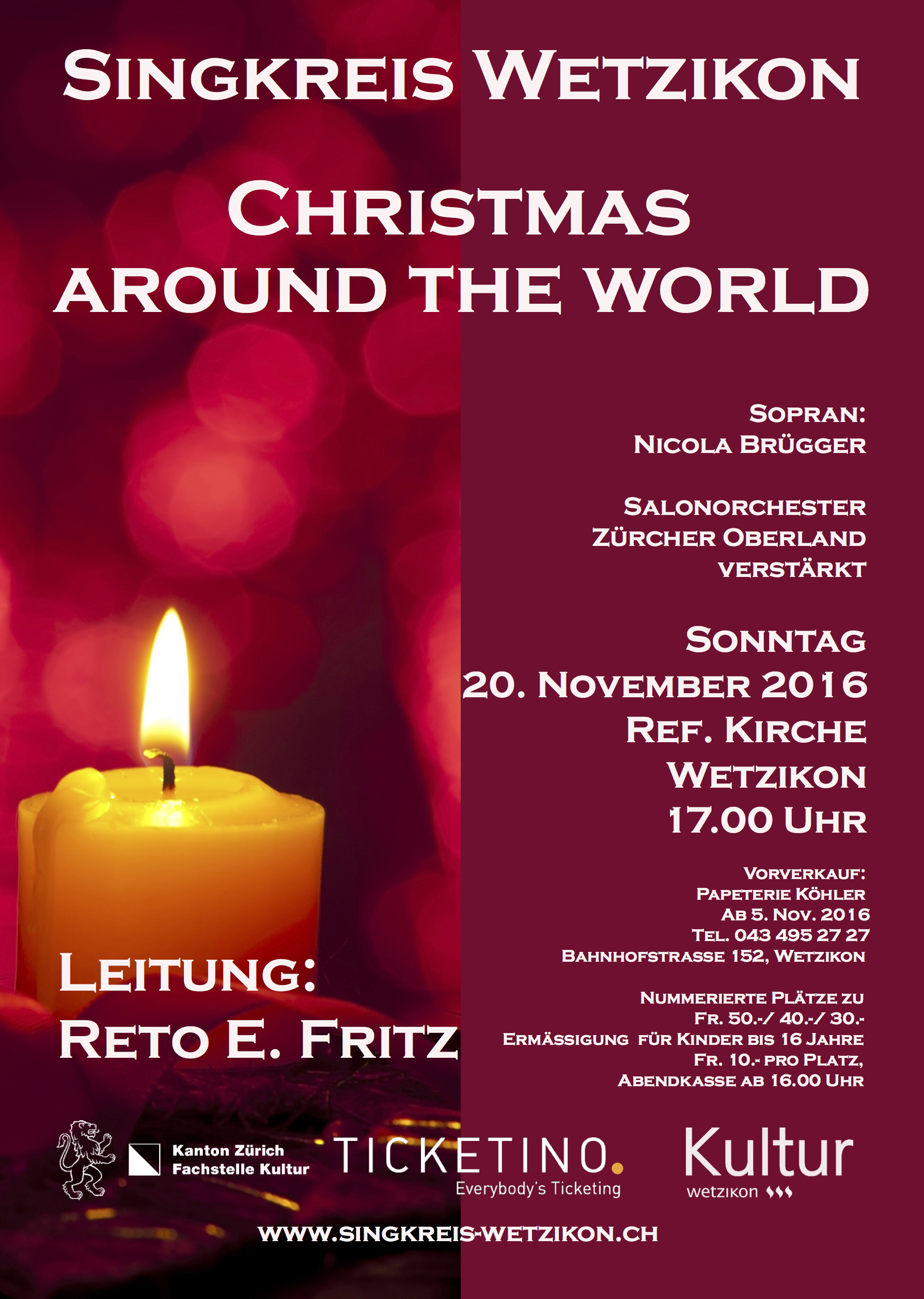 Christmas Around The World, 20. November 2016