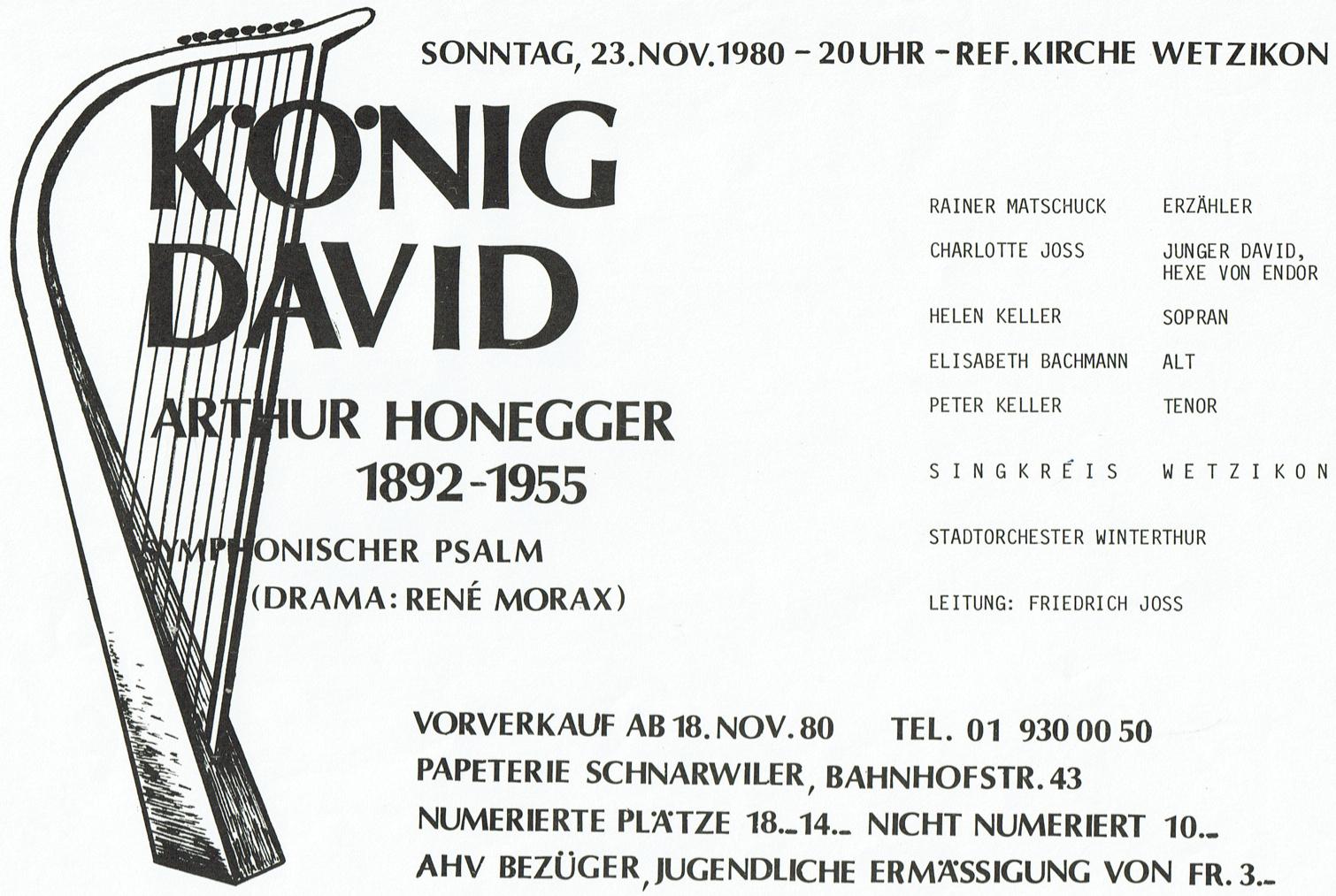 König David 1980